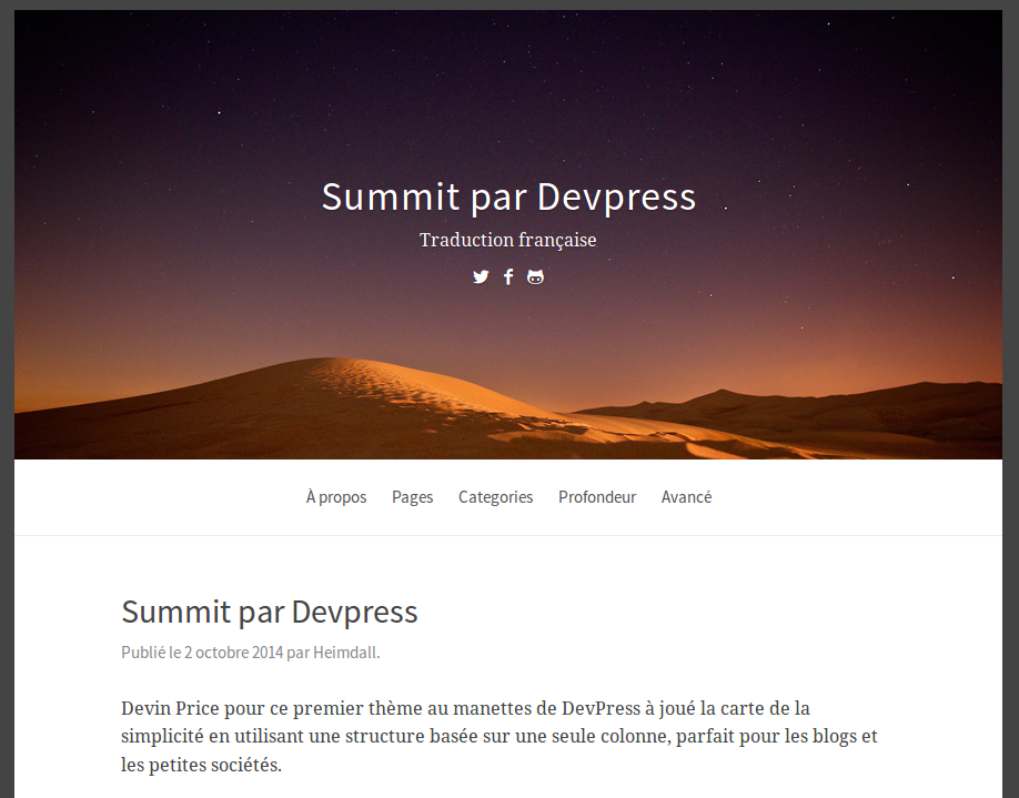 Summit par DevPress