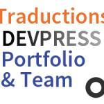 DevPress Portfolio Team traduction française