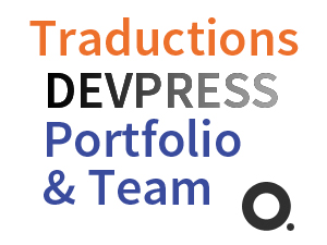 DevPress Portfolio Team traduction française