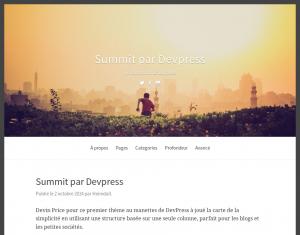 Summit traduction française
