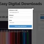 EDD Free Downloads Formulaire